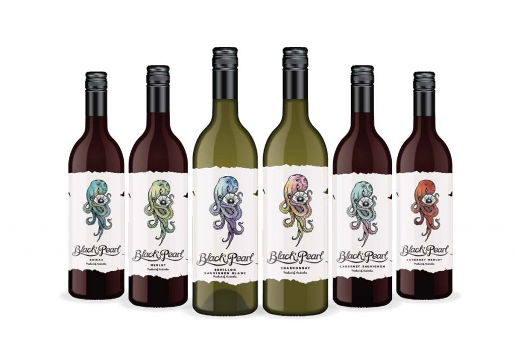 Black Pearl Australian Wine Range