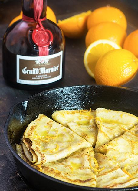 Crepes Suzette - Grand Marnier