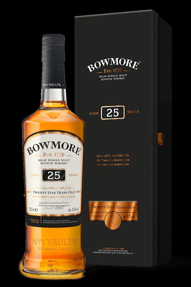Bowmore 25 YO Single Malt Whisky