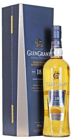 Glen Grant 18YO Single Malt Bottle