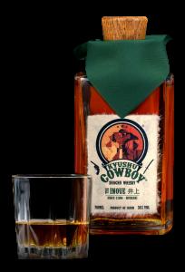 Kyushu Cowboy Inoue Whisky Bottle