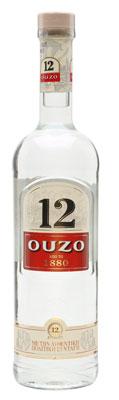 Ouzo 12 Bottle