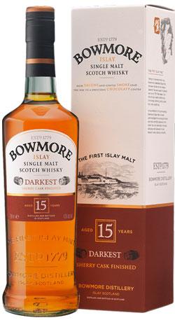 Bowmore 15YO Single Malt Whisky