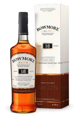 Bowmore 18YO Single Malt Whisky