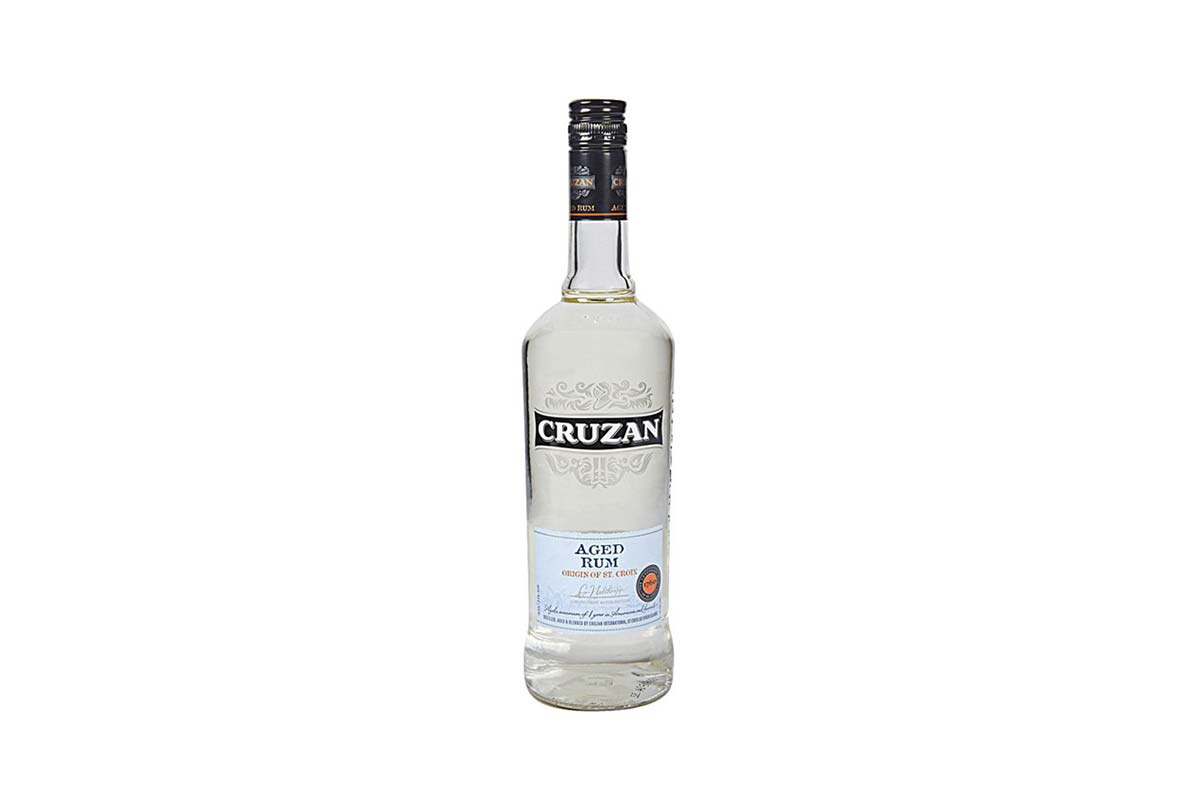 Cruzan Aged Light Rum Bottle