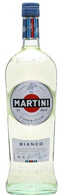Martini Bianco Vermouth Bottle