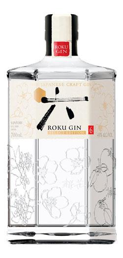 Roku Gin Bottle