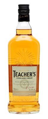 Teacher's Highland Cream Scotch Whisky Bottle